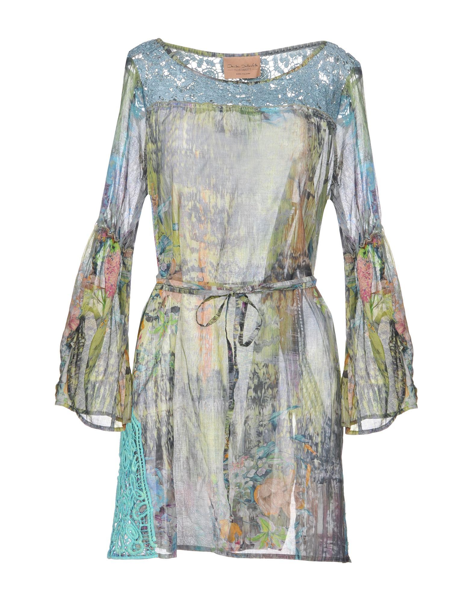 цена ELISA CAVALETTI by DANIELA DALLAVALLE Кафтан онлайн в 2017 году