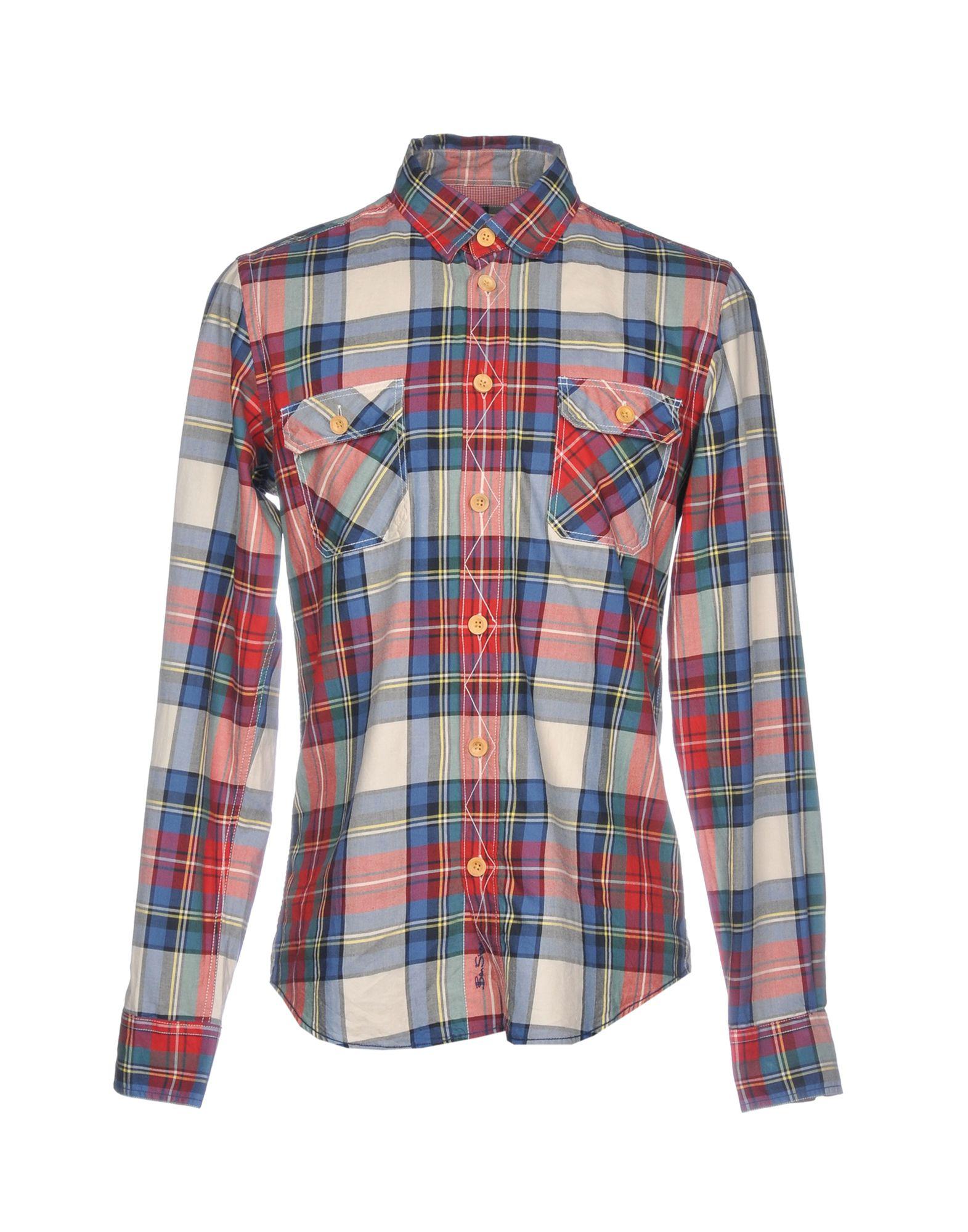BEN SHERMAN Pубашка цена