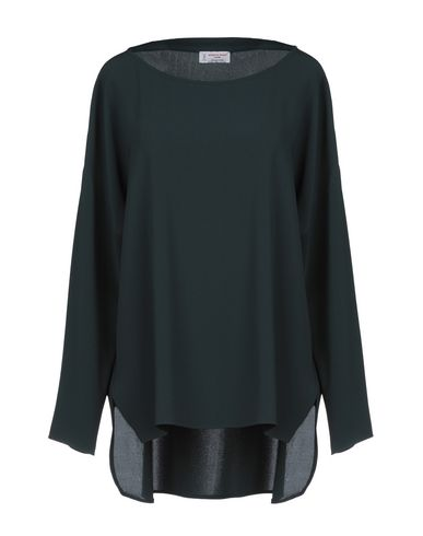 Купить Женскую блузку ALBERTO BIANI темно-зеленого цвета