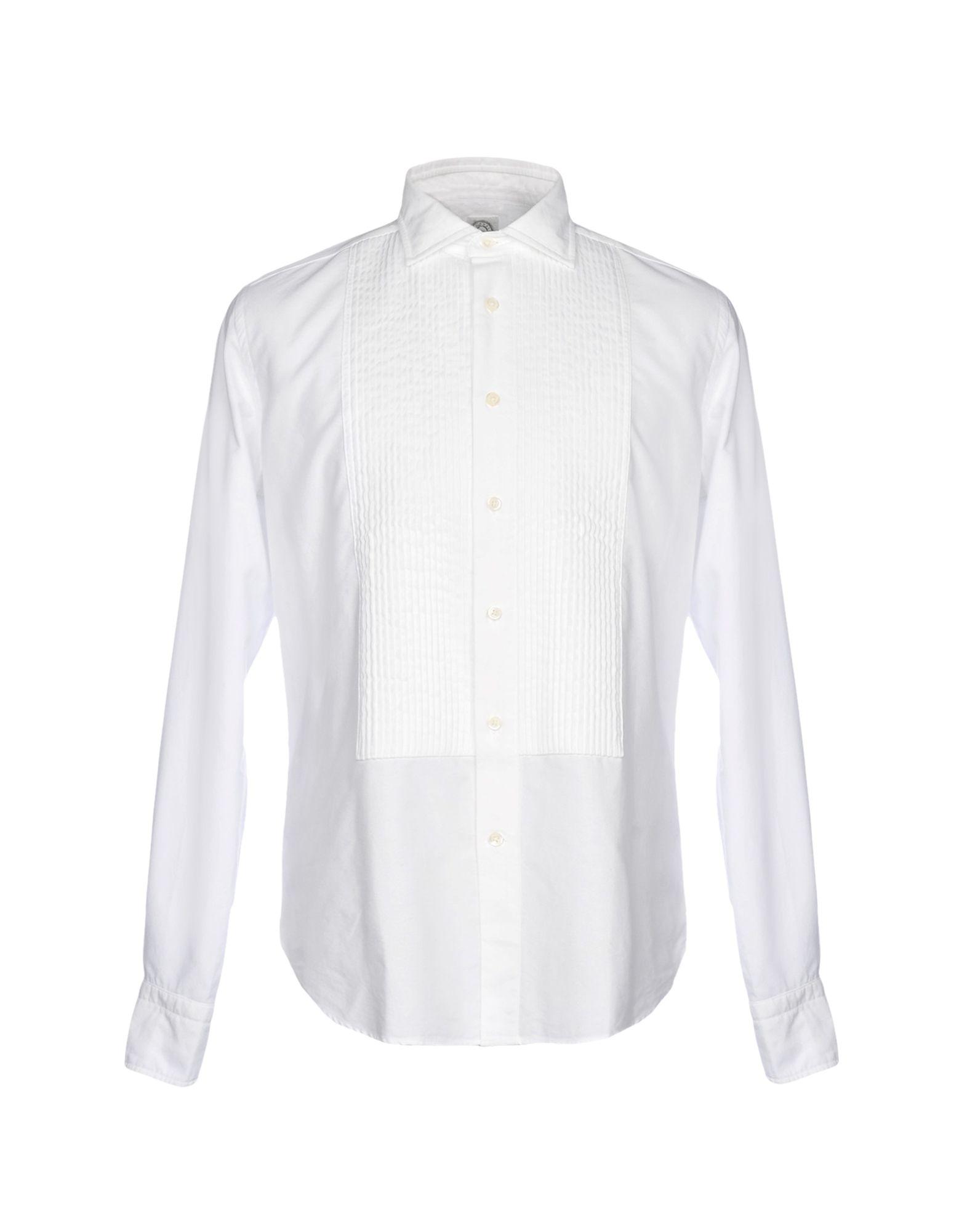 BOLZONELLA 1934 Shirts in White