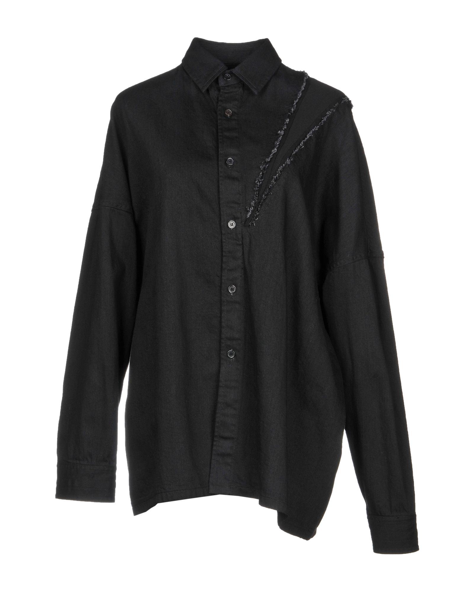 B YOHJI YAMAMOTO Джинсовая рубашка рубашка b young 803268 80032