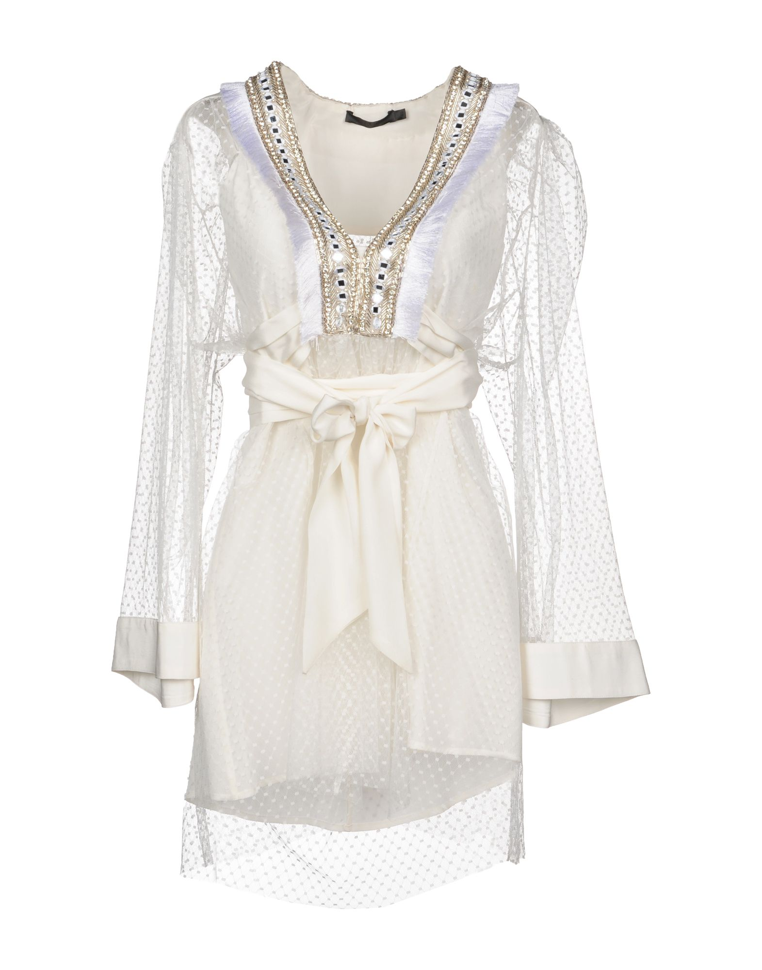 AMEN COUTURE Short Dress in White