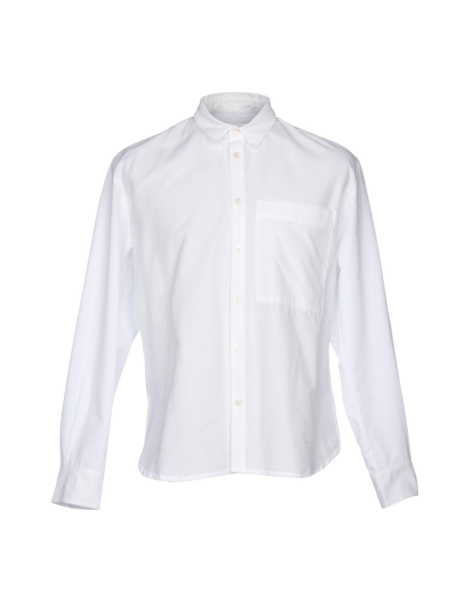 《送料無料》BONSAI メンズ シャツ ホワイト M コットン 100%