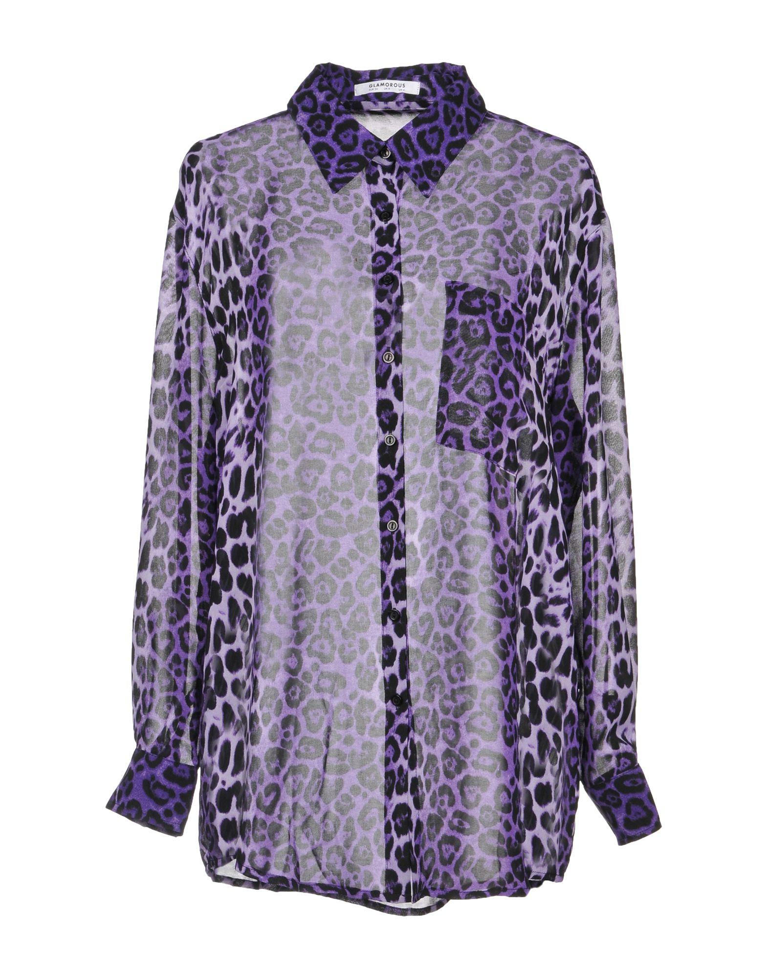 Glamorous Shirts In Purple Modesens