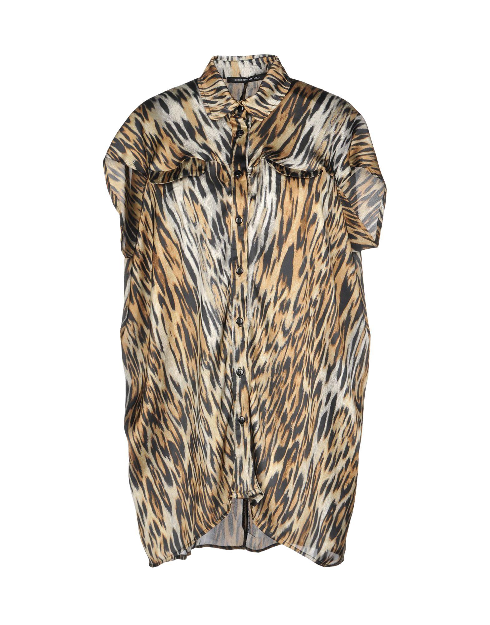 CHRISTINE MATHIEU Pубашка christine mathieu блузка