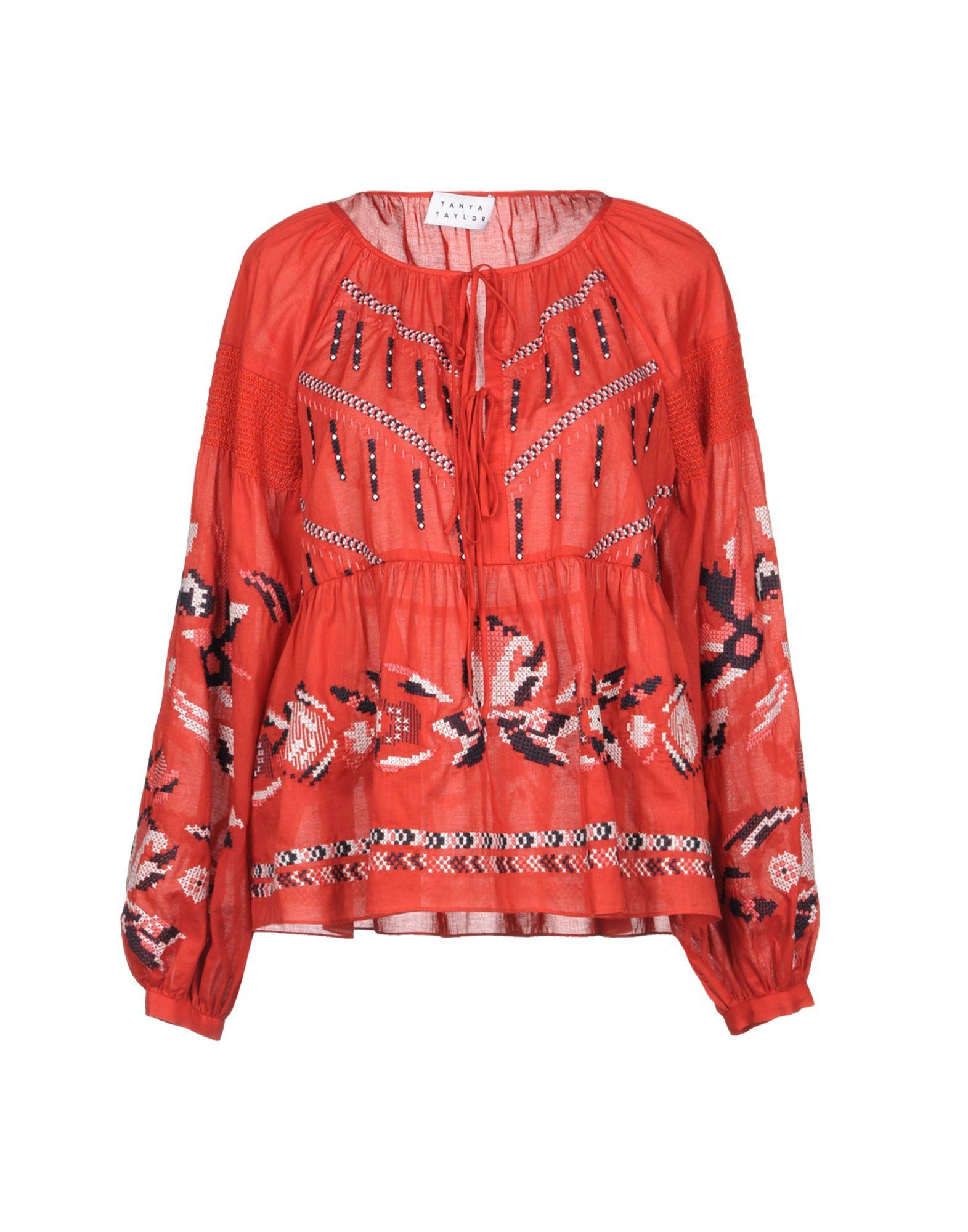 TANYA TAYLOR Блузка rebecca taylor блузка