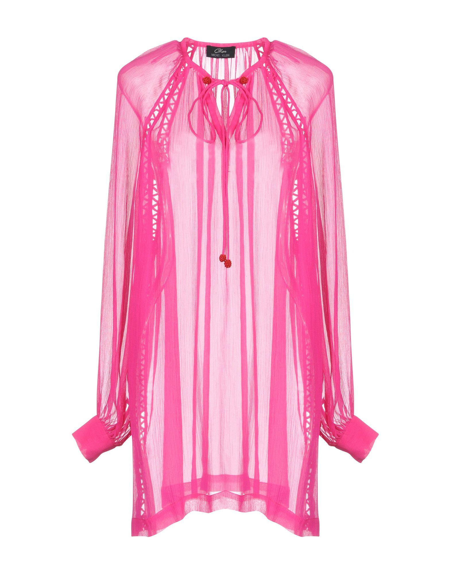 CHER MICHEL KLEIN Блузка cher michel klein шелковое платье