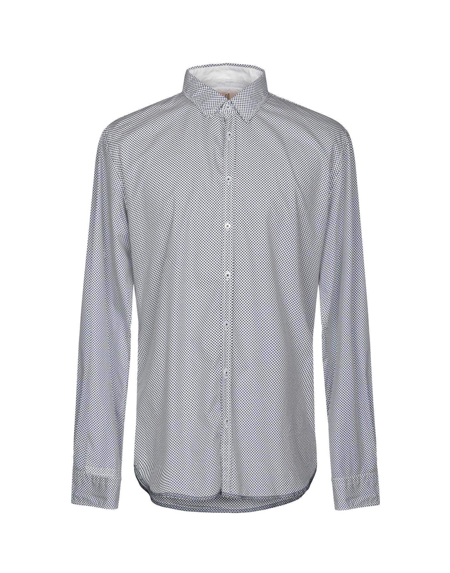《送料無料》Q1 メンズ シャツ ダークブルー XL コットン 100%