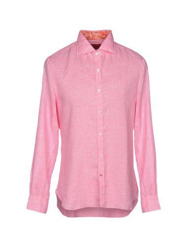 Фото - Pубашка от ISAIA красного цвета