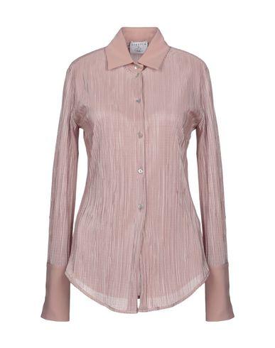 Фото - Pубашка от STRETCH by PAULIE пастельно-розового цвета