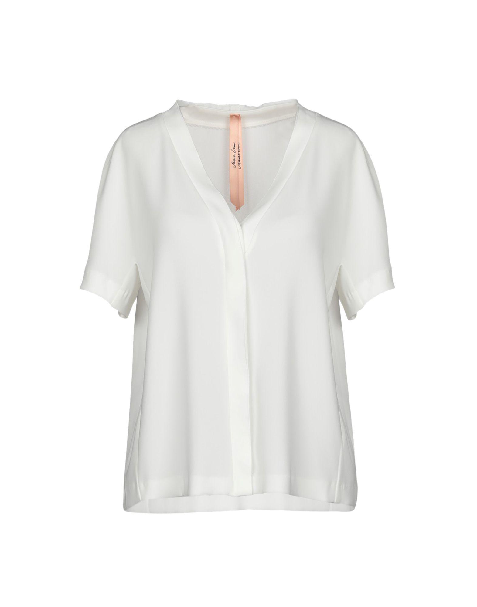 MARC CAIN Блузка полуприлегающее платье без рукавов marc cain платья и сарафаны мини короткие