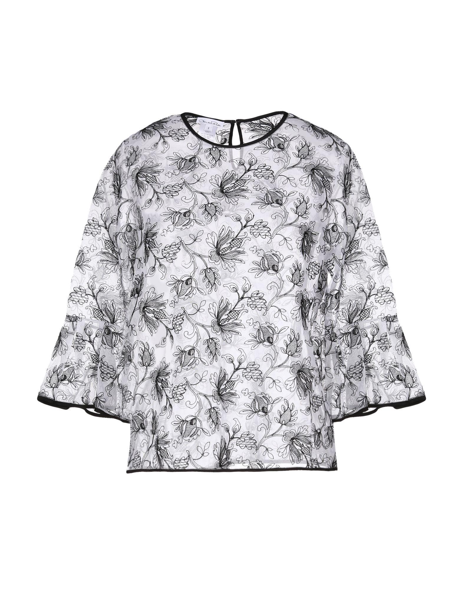 OSCAR DE LA RENTA Блузка цены онлайн