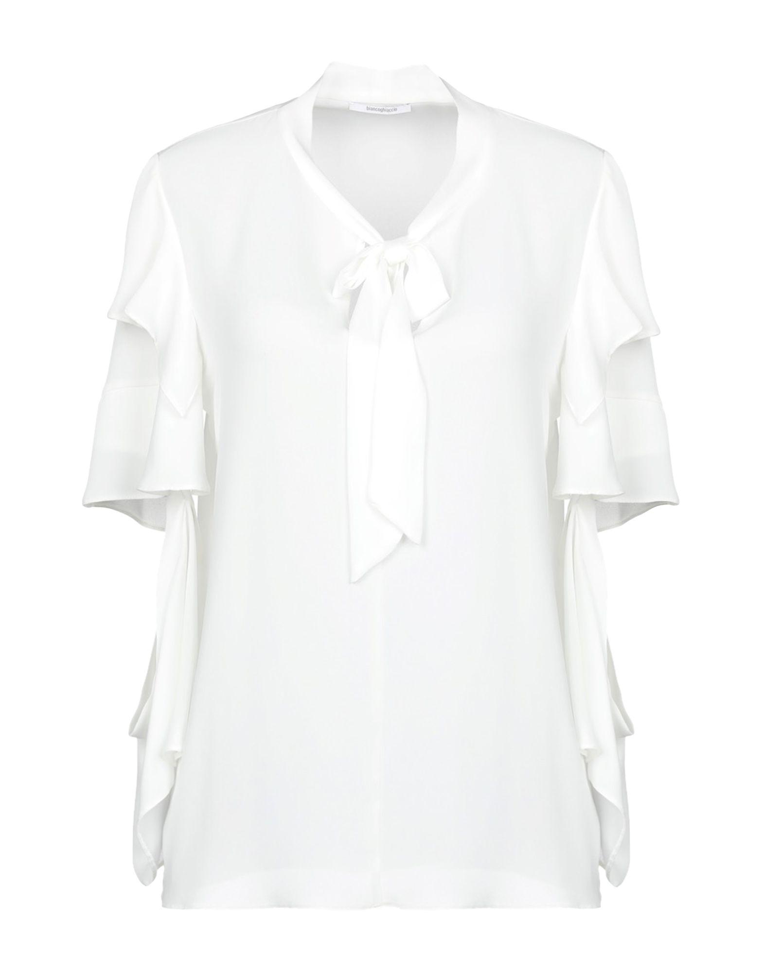 BIANCOGHIACCIO Блузка biancoghiaccio pубашка