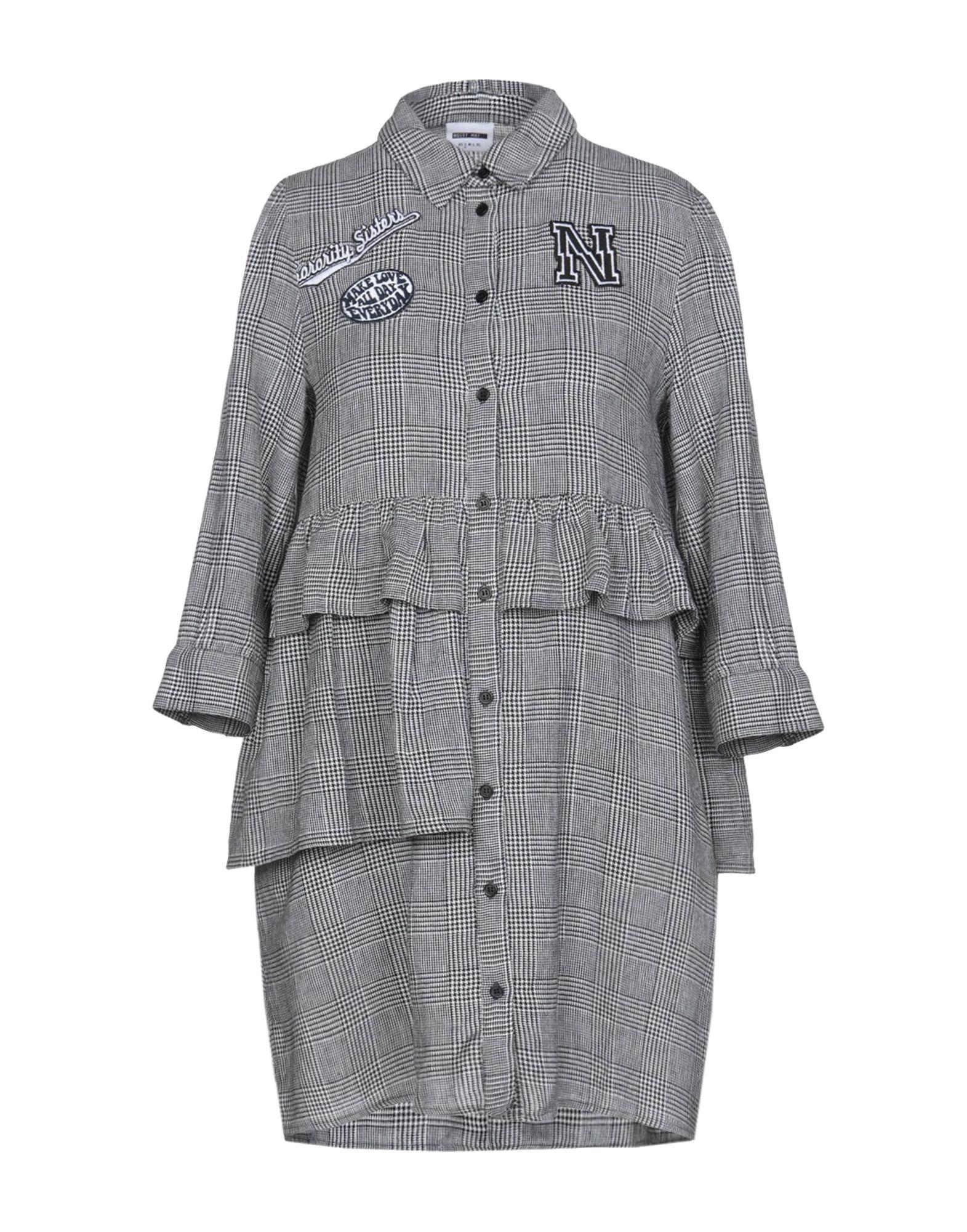 《送料無料》NOISY MAY レディース シャツ ブラック XS コットン 100%