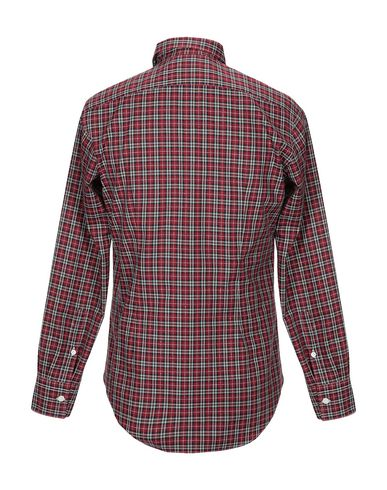 Фото 2 - Pубашка от ELEVENTY красного цвета