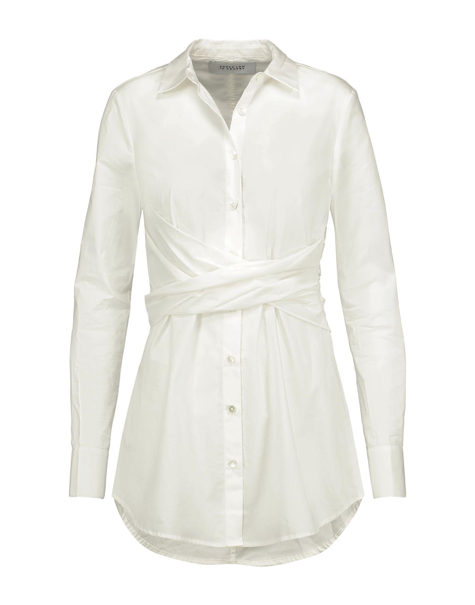DEREK LAM 10 CROSBY Pубашка цены онлайн
