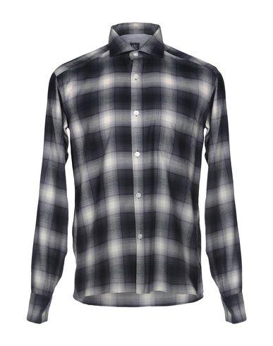 Фото - Pубашка от ELEVENTY цвет стальной серый