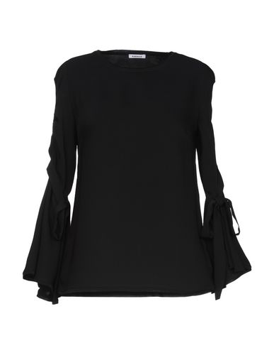 Фото - Женскую блузку P.A.R.O.S.H. черного цвета
