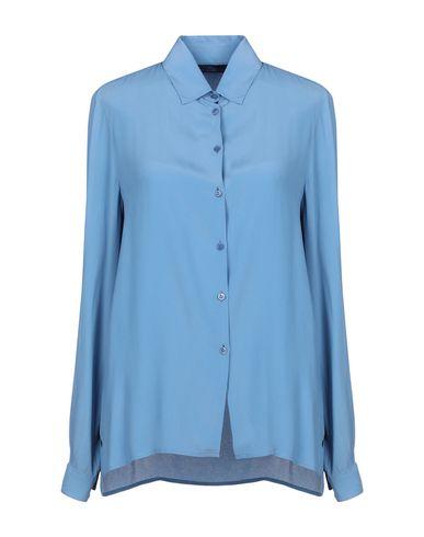 Купить Pубашка от BLUE LES COPAINS грифельно-синего цвета