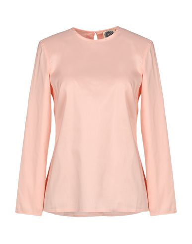 Фото - Женскую блузку AM розового цвета