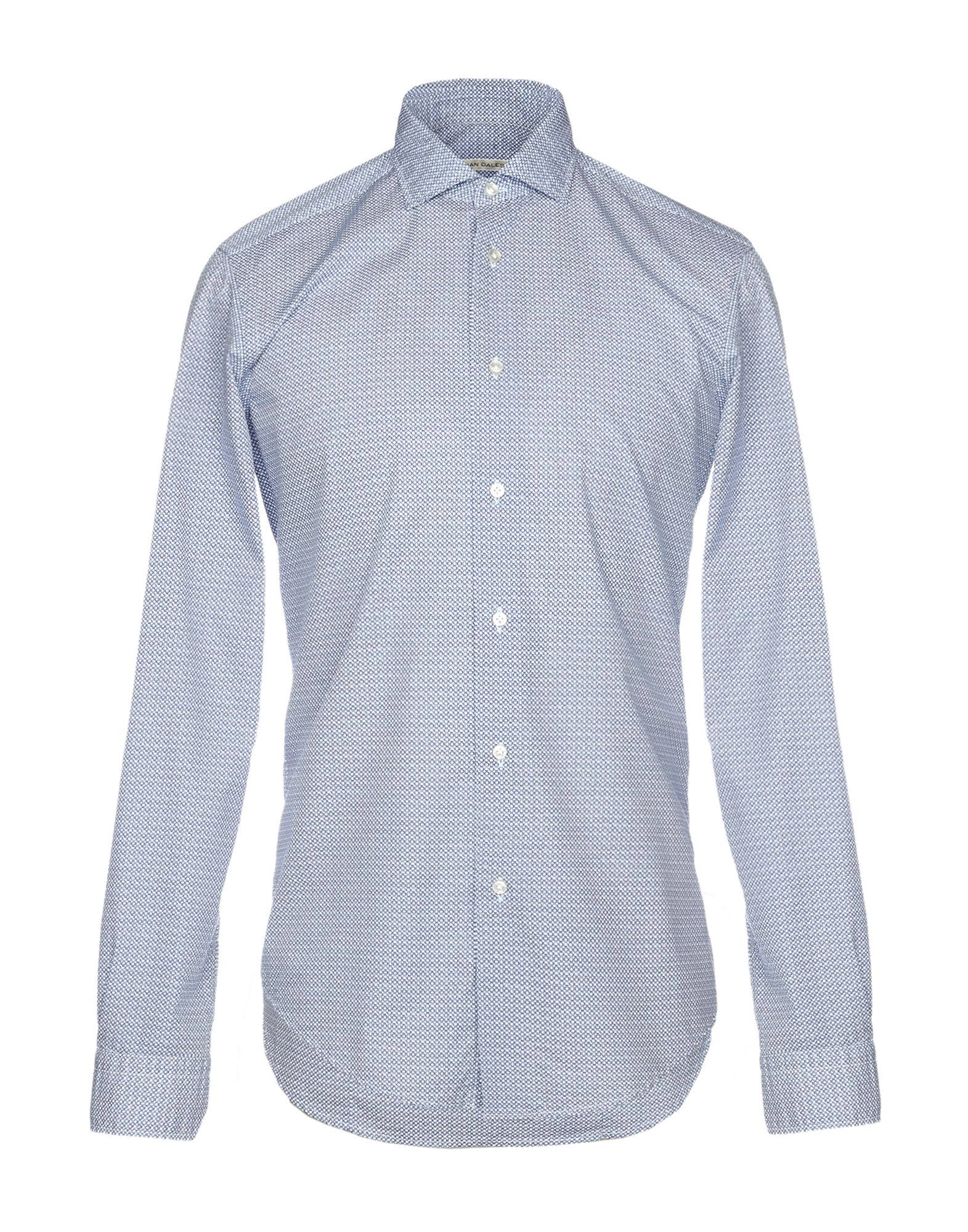 《送料無料》BRIAN DALES メンズ シャツ ダークブルー 38 コットン 100%