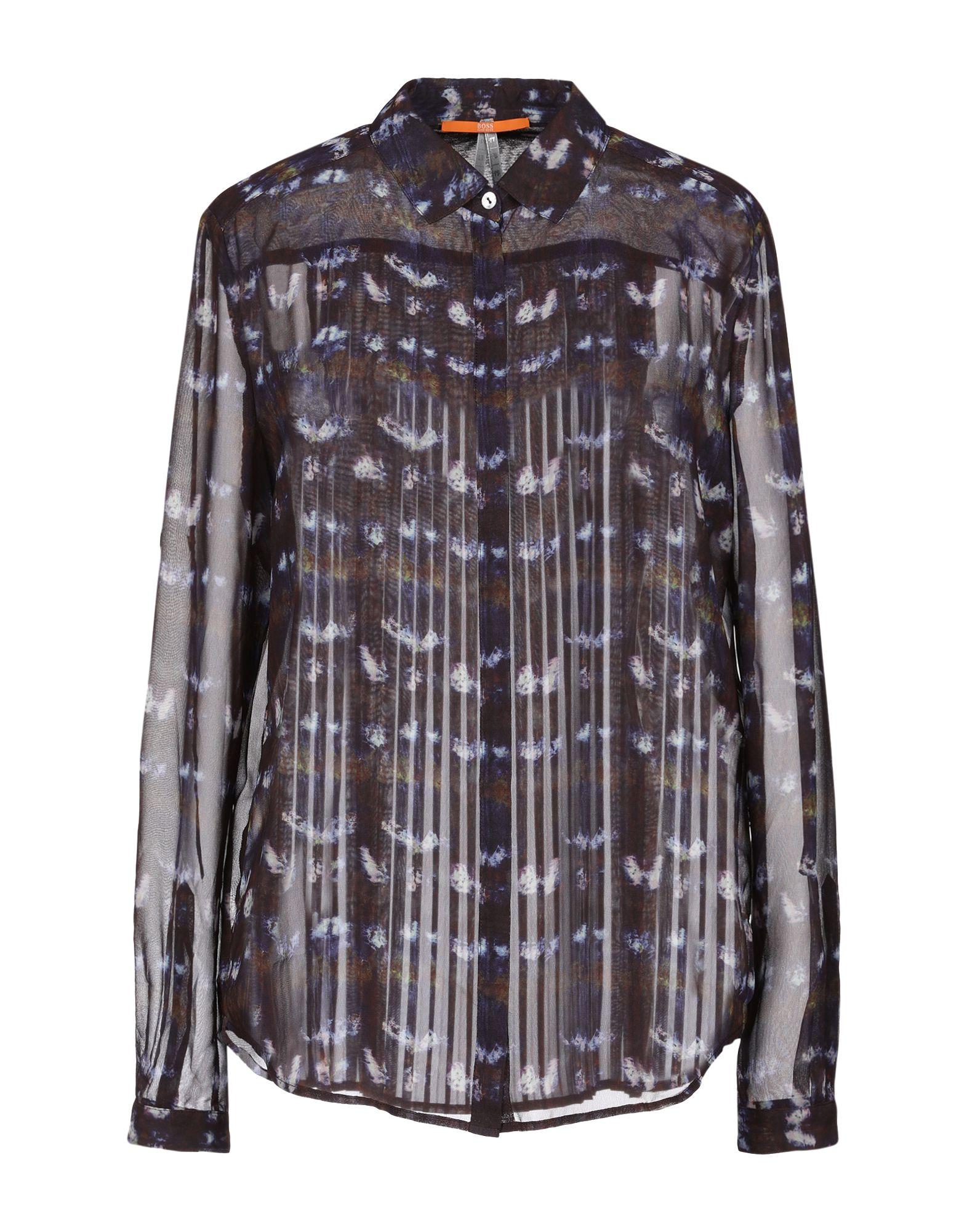 BOSS ORANGE Pубашка автоматическая сушилка для рук nofer fuga 800 w белая 01851 w