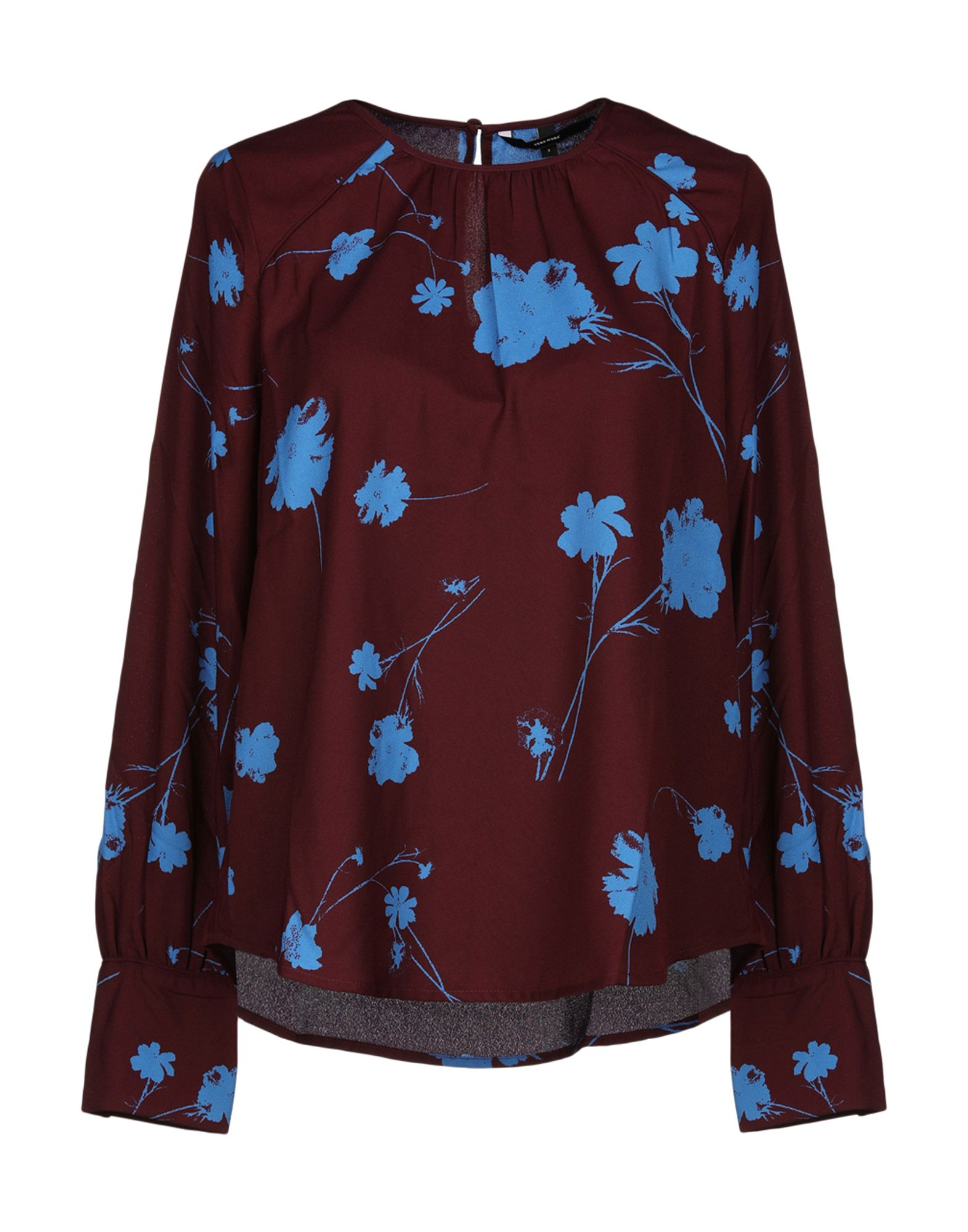 VERO MODA Блузка блузка alba moda klingel цвет серый рисунок