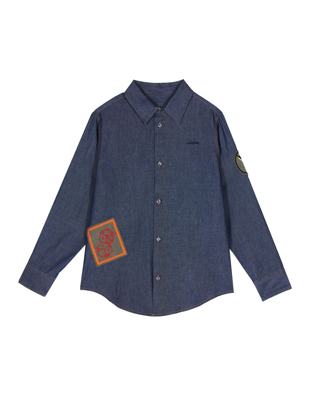COTTON PATCH SHIRT  - Lanvin