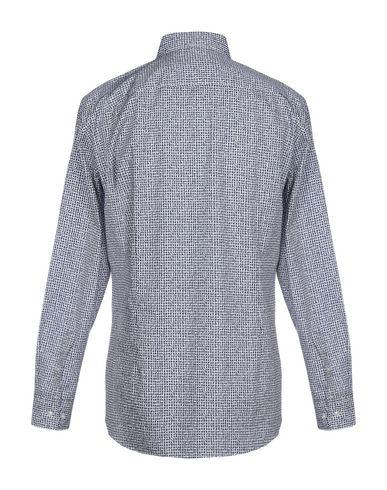 Фото 2 - Pубашка от BOSS BLACK синего цвета