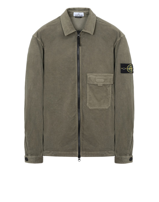 STONE ISLAND オーバーシャツ 11502