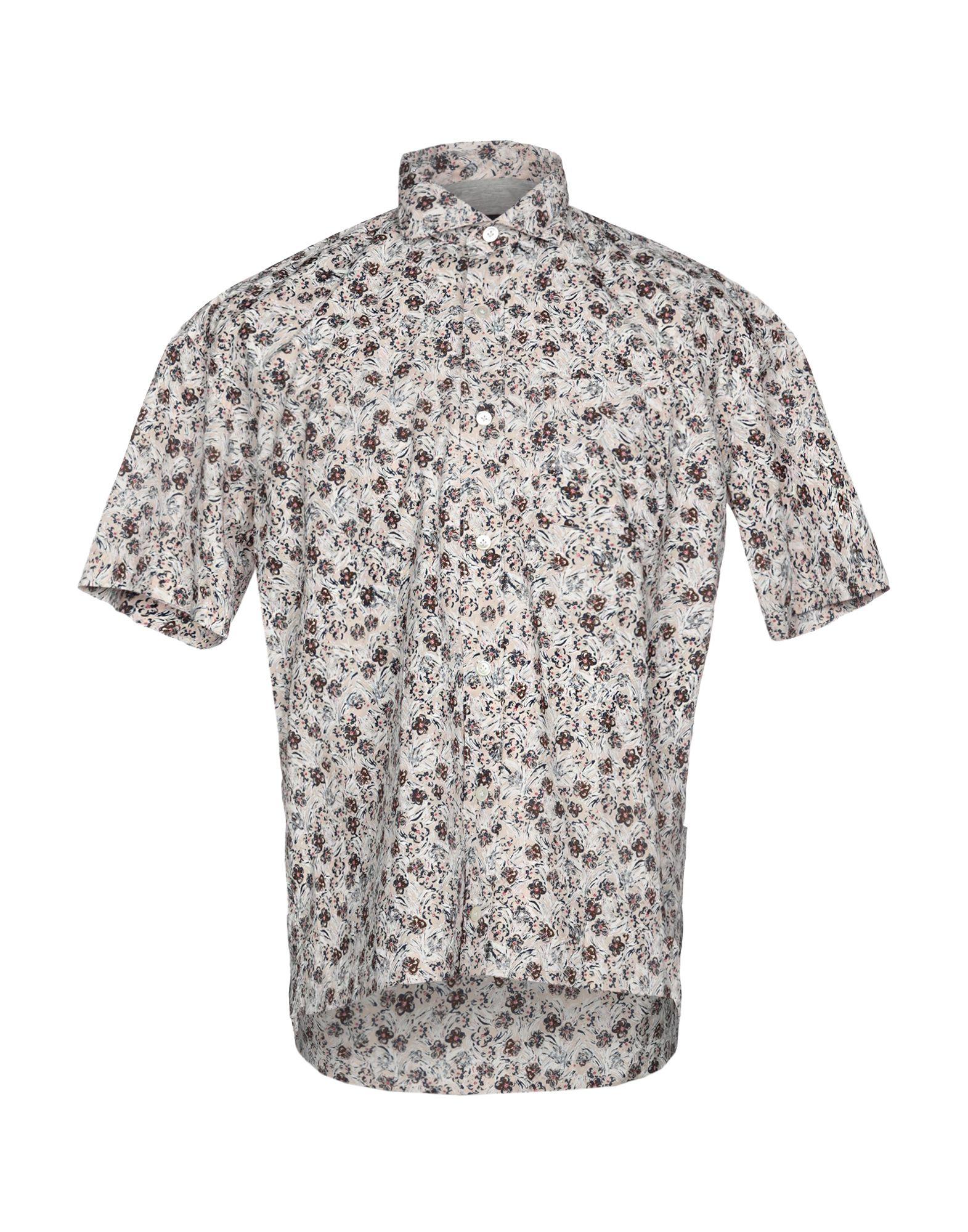 《送料無料》ELEVENTY メンズ シャツ ライトグレー 39 コットン 100%