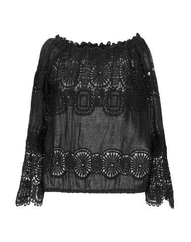 Купить Женскую блузку TEMPTATION черного цвета