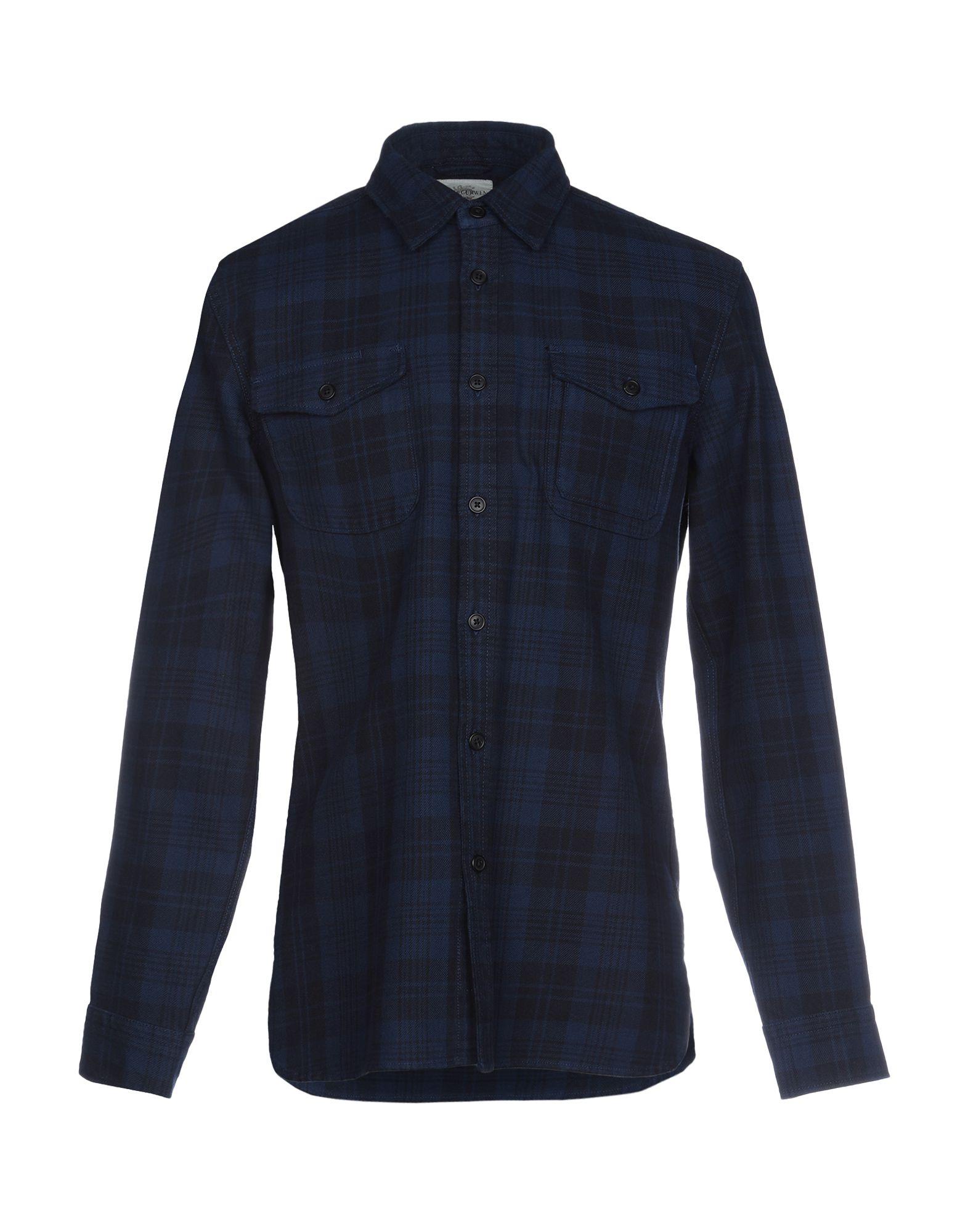 《送料無料》KENT & CURWEN メンズ シャツ ブルー XS コットン 100%