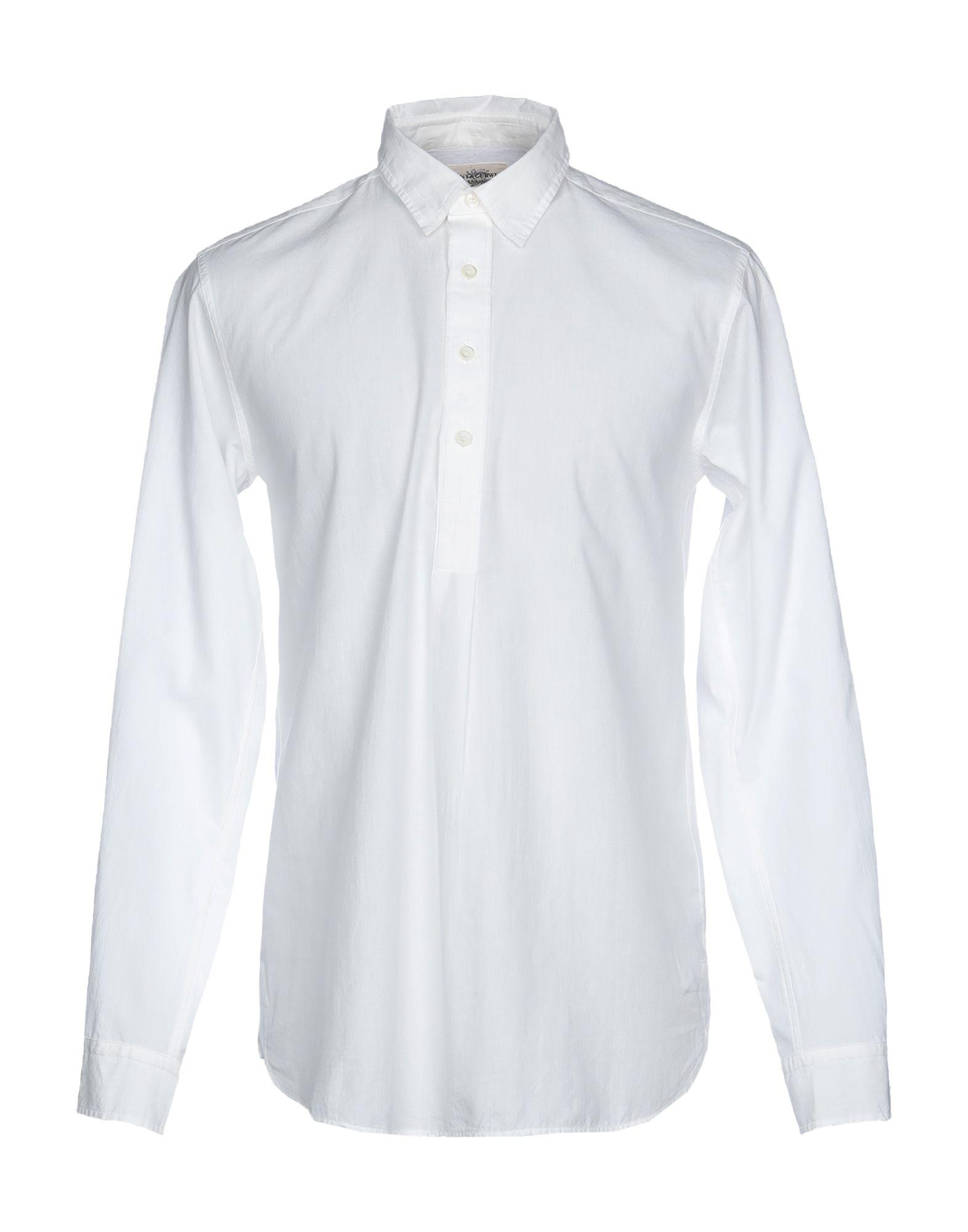 《セール開催中》KENT & CURWEN メンズ シャツ ホワイト XS 100% コットン