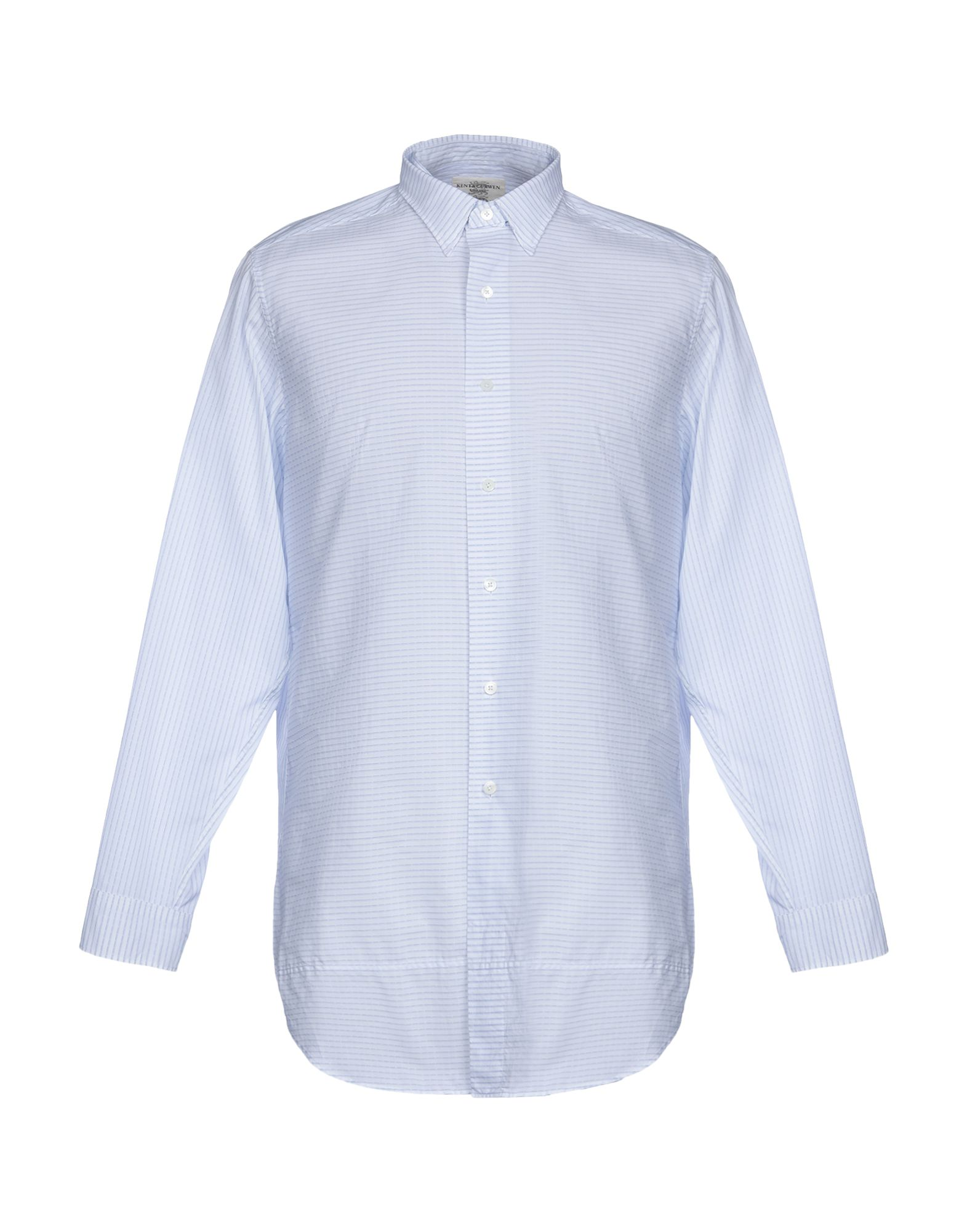 《送料無料》KENT & CURWEN メンズ シャツ ホワイト XS コットン 100%