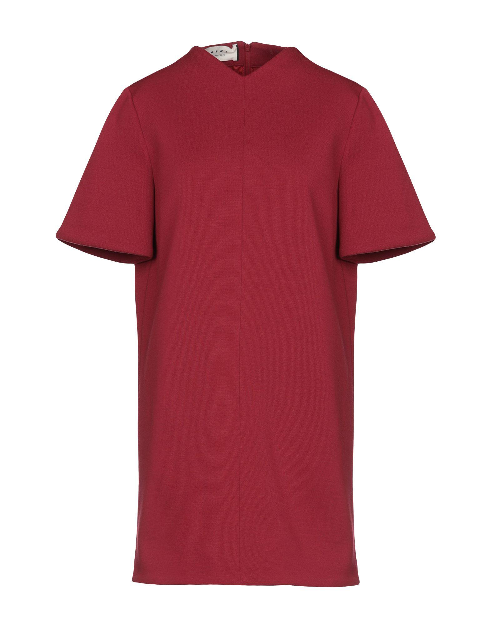 MARNI Блузка блузка с рисунком короткие рукава вырез сзади