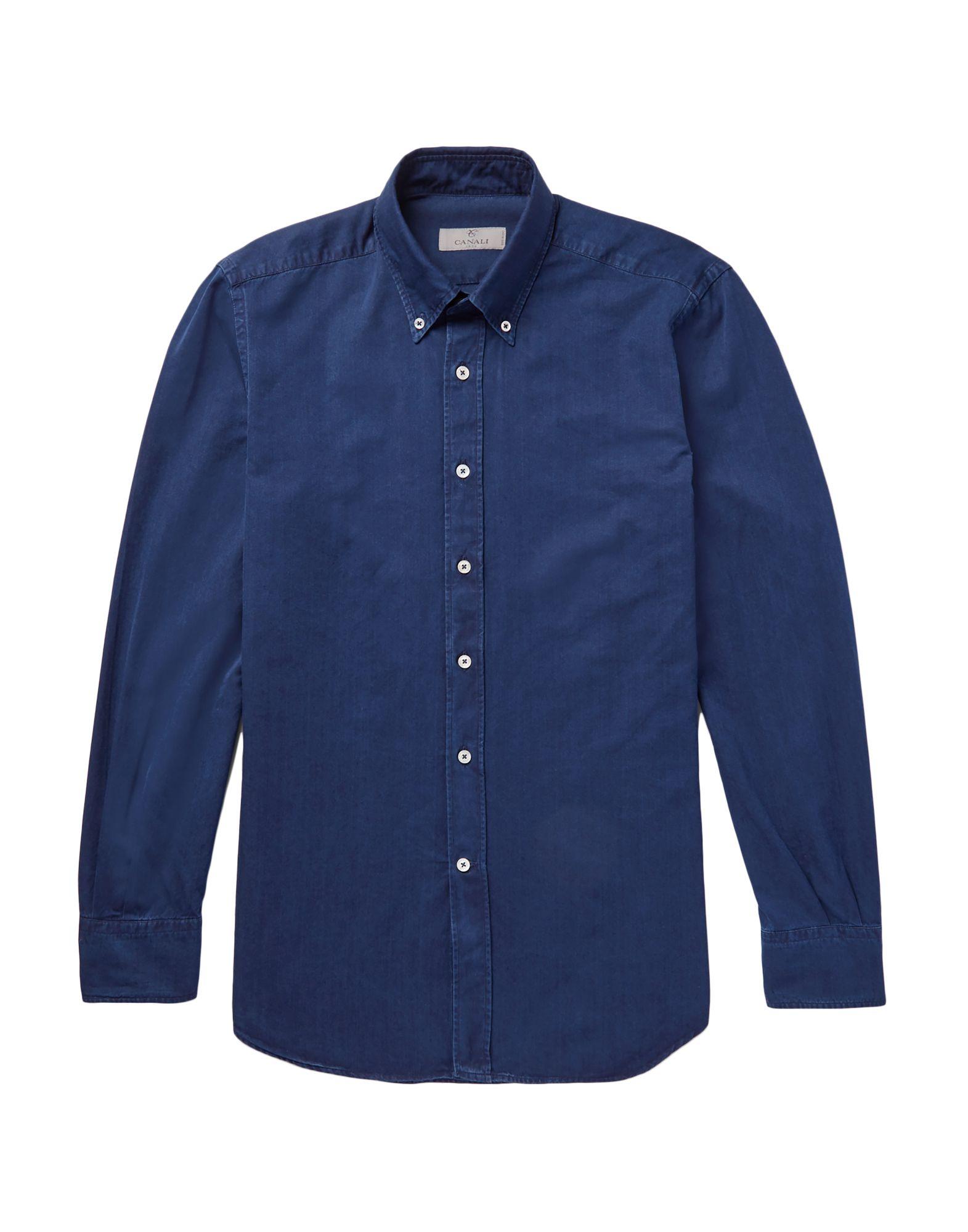 CANALI Джинсовая рубашка
