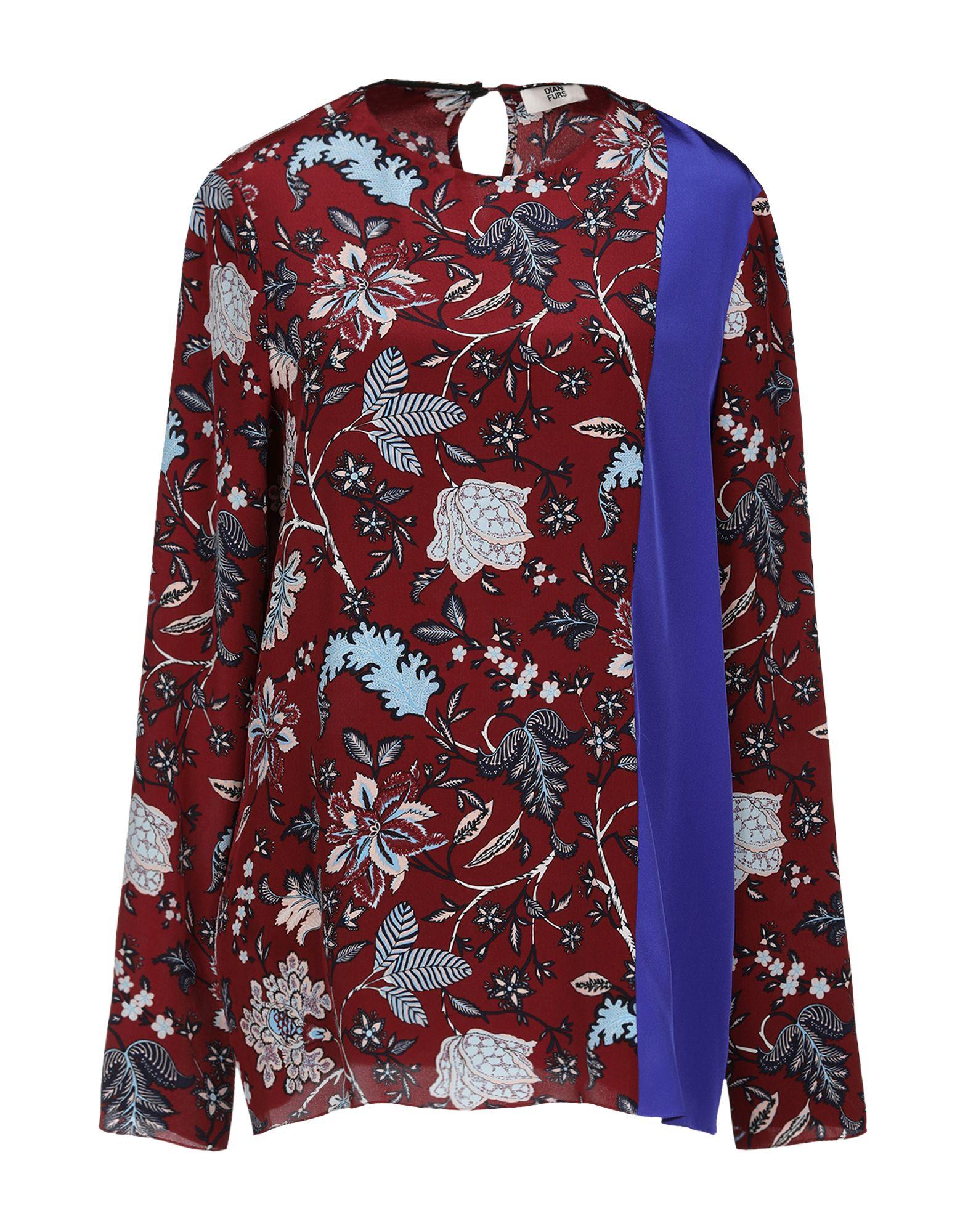 DIANE VON FURSTENBERG Блузка diane von furstenberg блузка