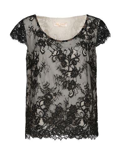 Фото - Женскую блузку AMONREE черного цвета