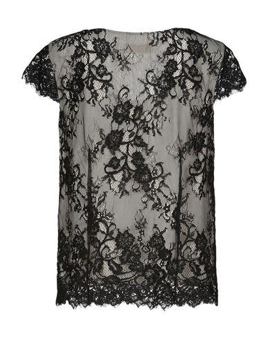 Фото 2 - Женскую блузку AMONREE черного цвета
