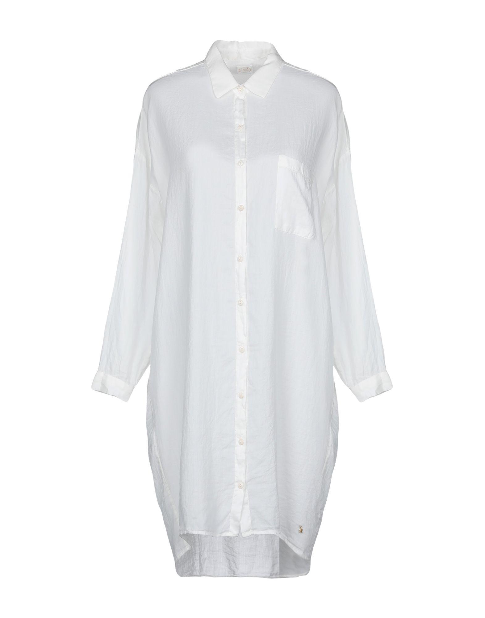 《セール開催中》DES PETITS HAUTS レディース シャツ ホワイト 0 コットン 100%