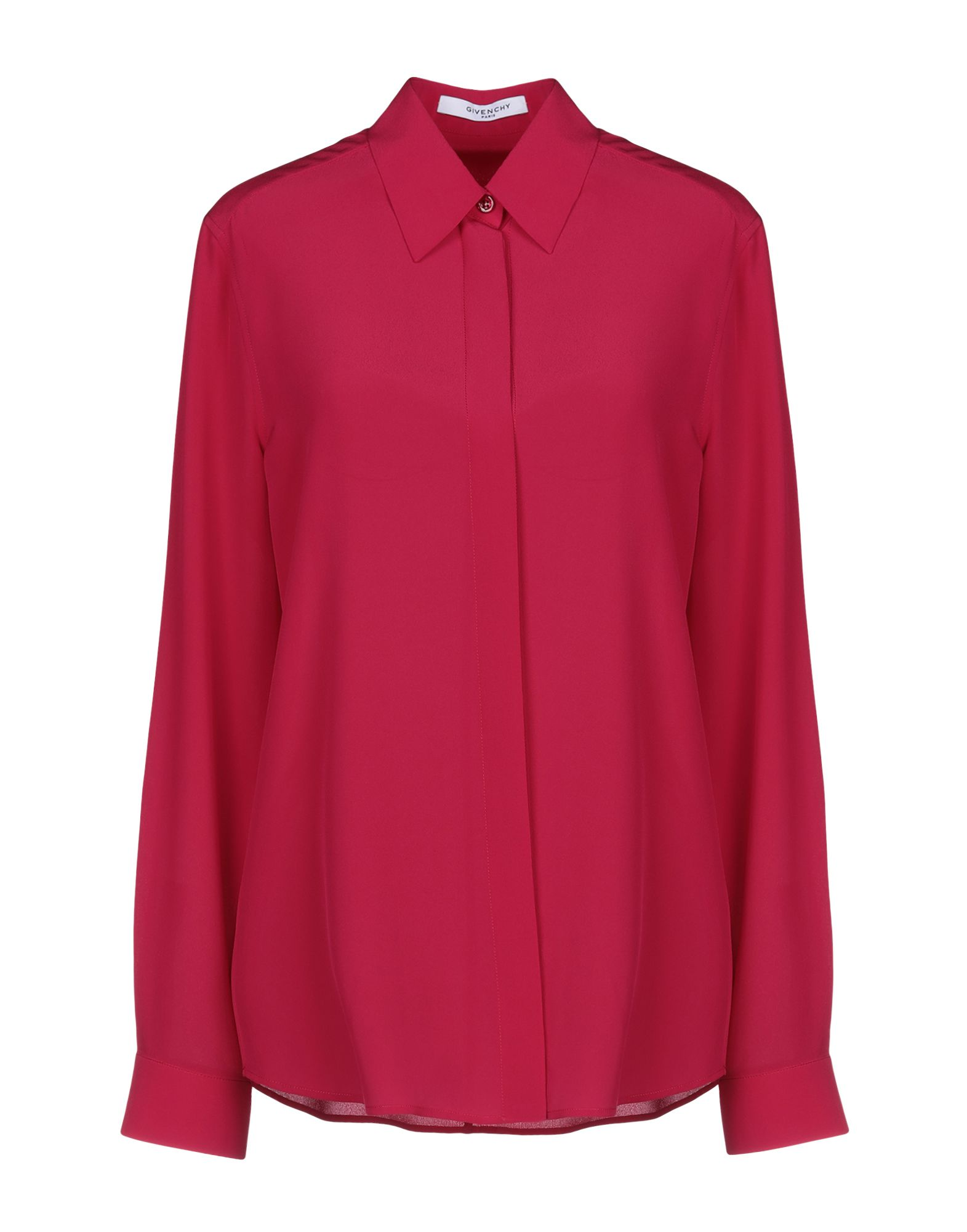 《送料無料》GIVENCHY レディース シャツ フューシャ 40 シルク 100%