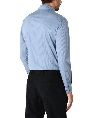 Фото 2 - Pубашка небесно-голубого цвета