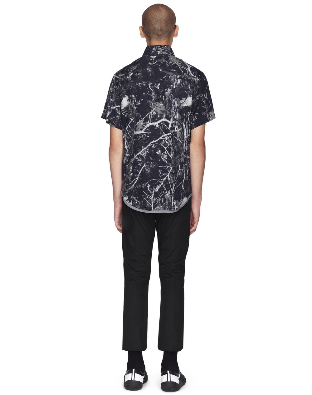 """FOREST CAMOUFLAGE"" BOWLING SHIRT - Lanvin"