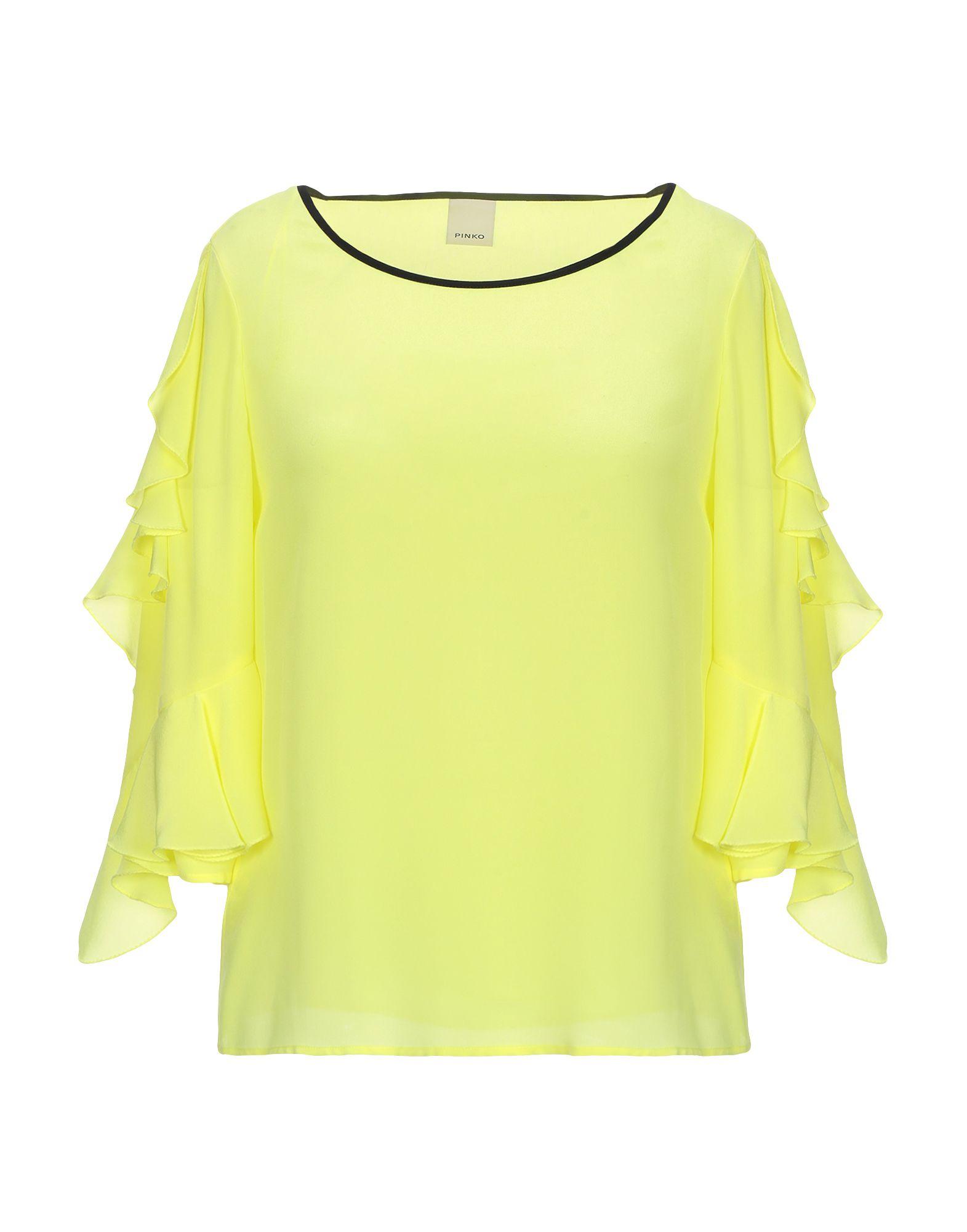 PINKO Блузка блузка с рисунком и рукавами с напуском kalao blouse