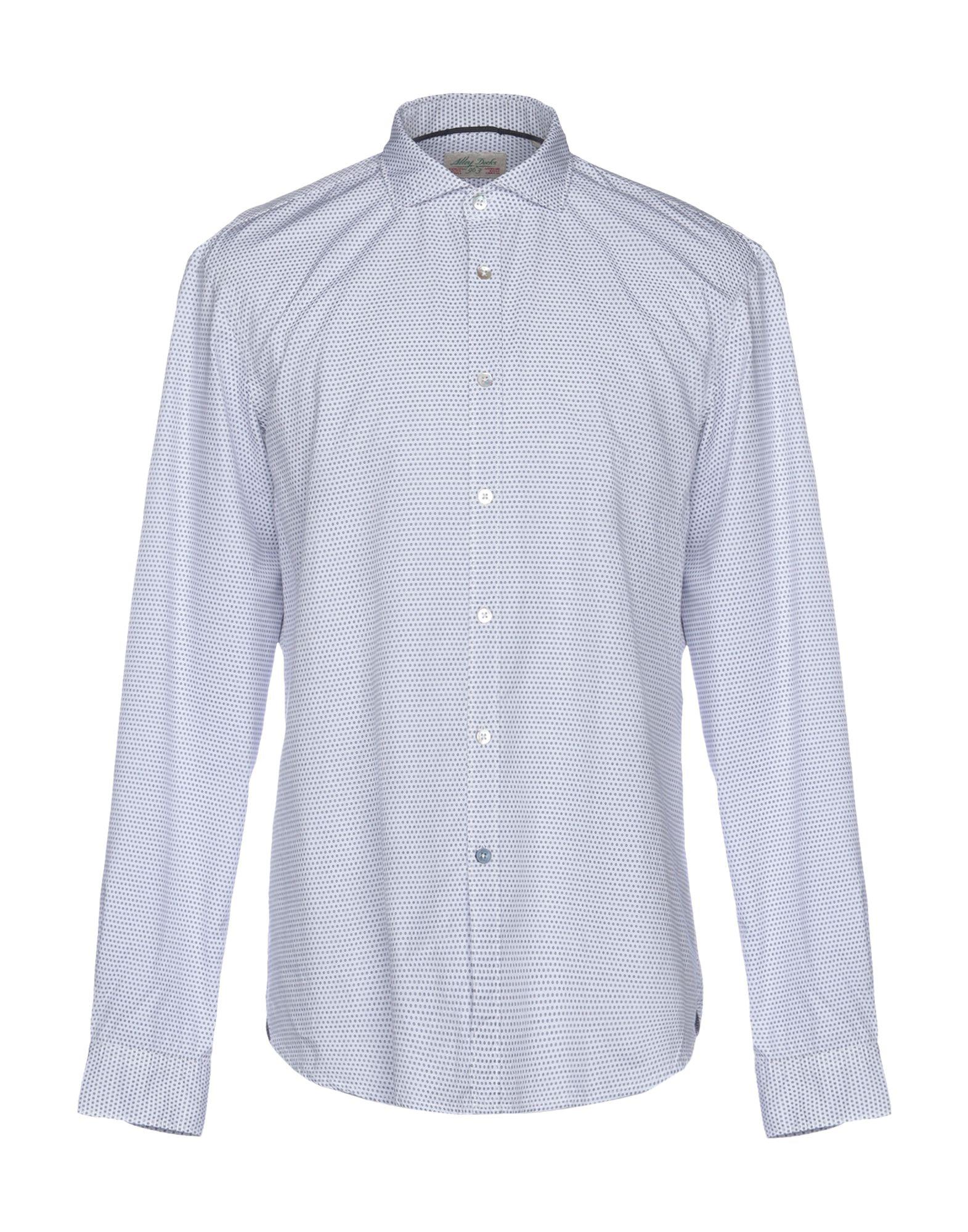 ALLEY DOCKS 963 Pубашка alley docks 963 джинсовая рубашка