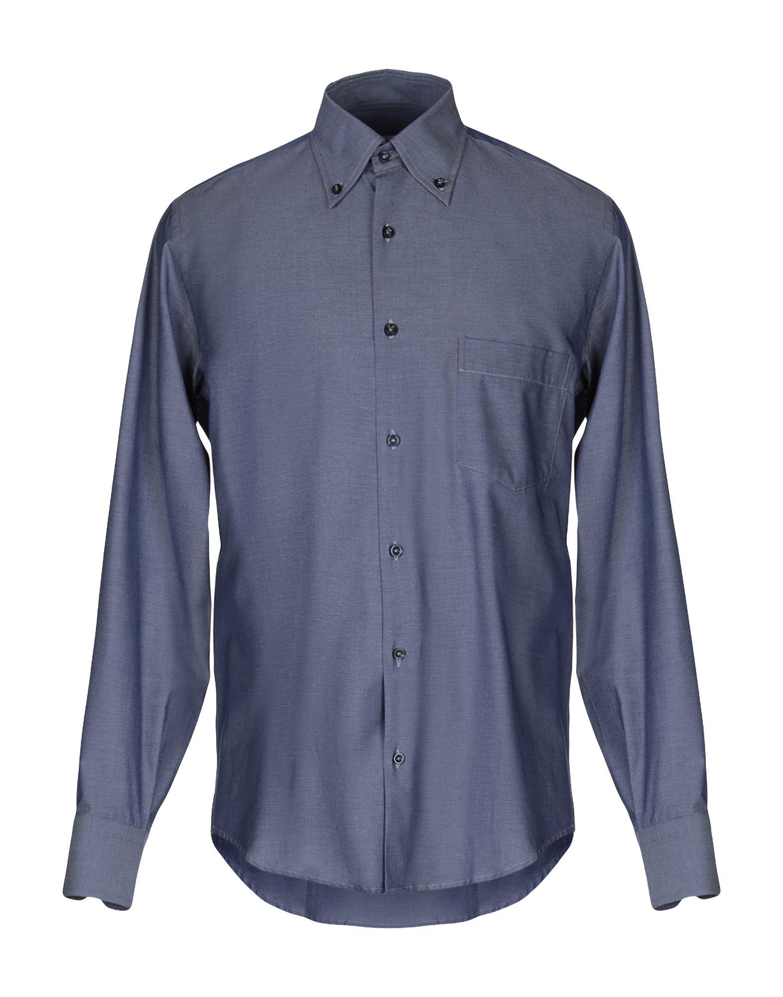 EGON von FURSTENBERG Джинсовая рубашка недорго, оригинальная цена