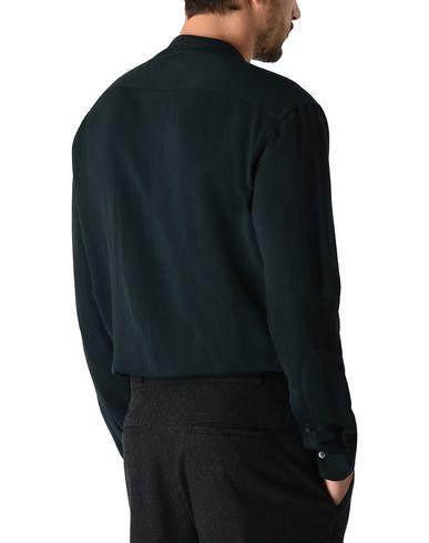 Фото 2 - Pубашка темно-зеленого цвета