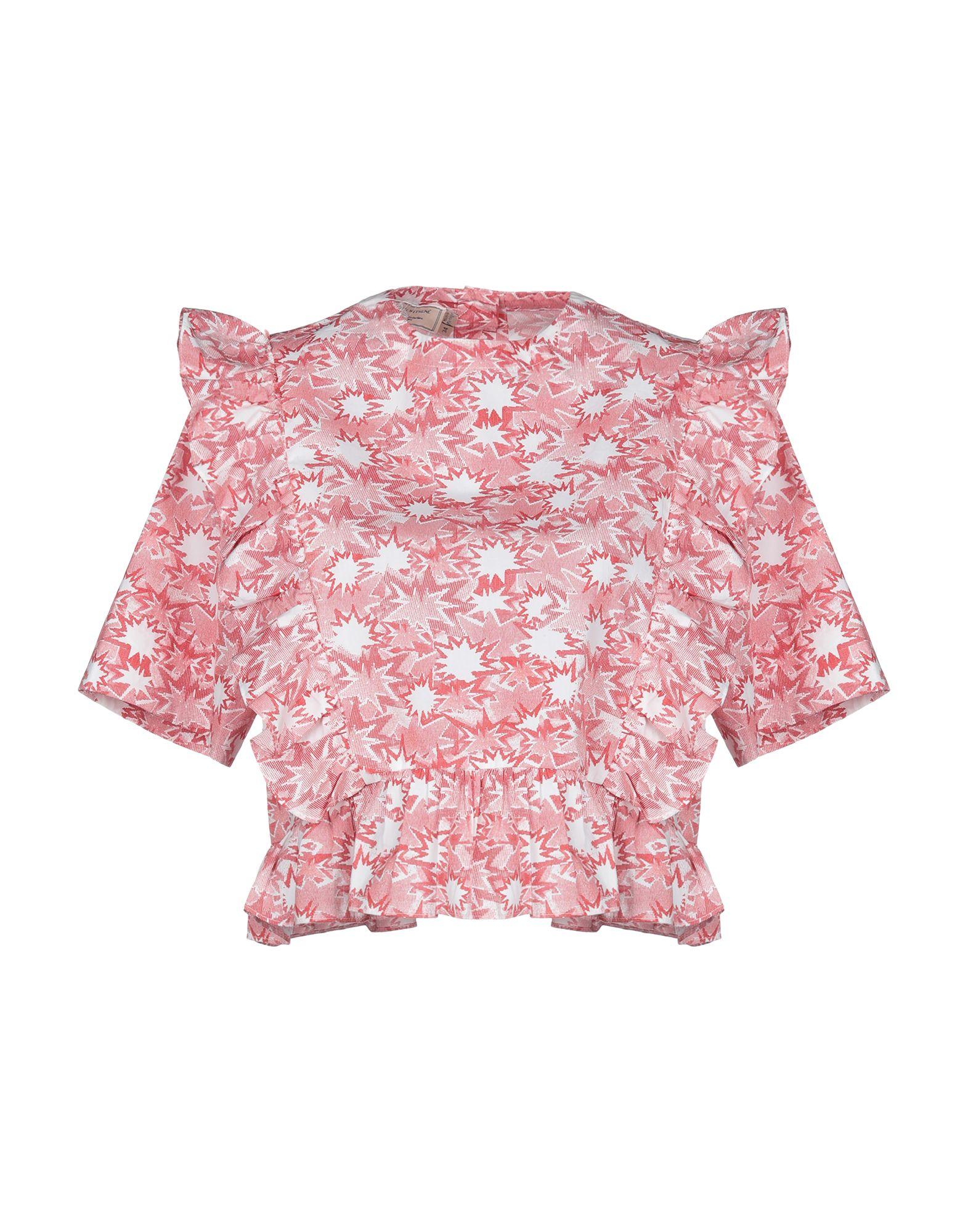 MAISON KITSUNÉ Блузка maison kitsuné свитер