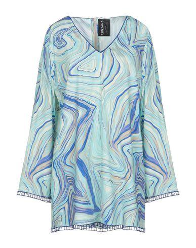 Фото - Женскую блузку FONTANA COUTURE светло-зеленого цвета